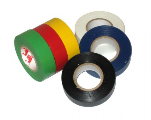 Black PVC Insulation Insulating Tape